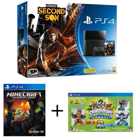 Console PS4 + 3 jeux