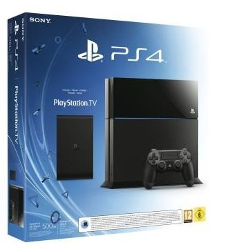 Console PS4 avec Play TV