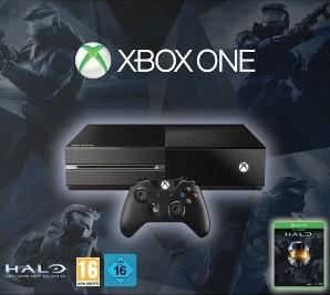 Console Xbox One avec deux jeux