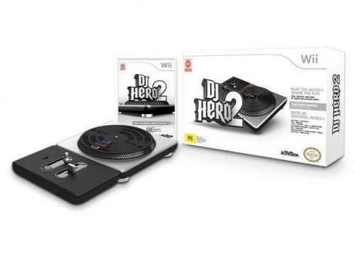 DJ Hero sur Wii avec platine