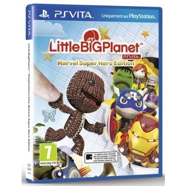 Little Big Planet Marvel Super Hero edition sur PS Vita