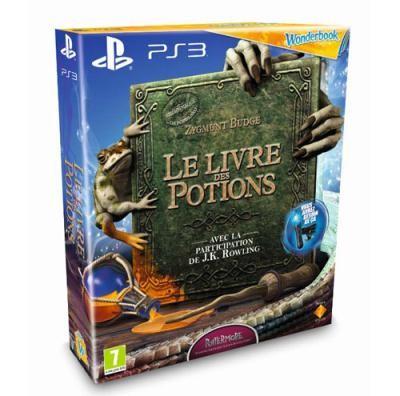 Livre des potions et wonderbook sur PS3