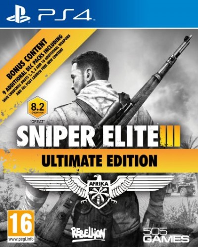 Sniper Elite 3 Ultimate Edition sur PS4