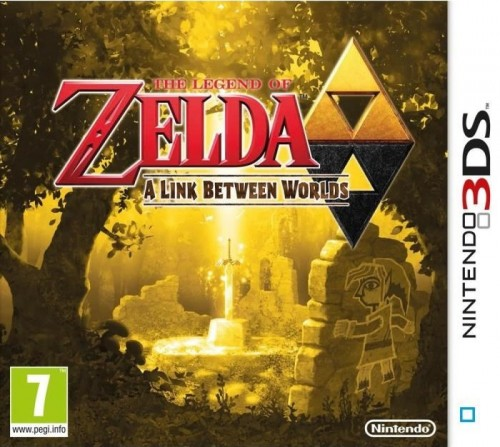 Zelda link between worlds sur 3ds