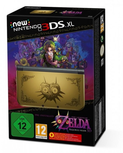 console New 3DS XL collector Majora's Mask
