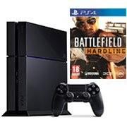 console PS4 avec Battlefield Hardline