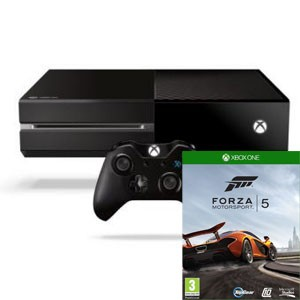 console xbox One avec forza 5 offert