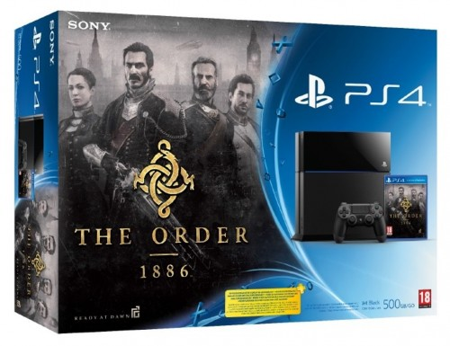 pack console ps4 avec the order 1886