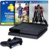 console ps4 avec deux jeux et un abonnement PSN