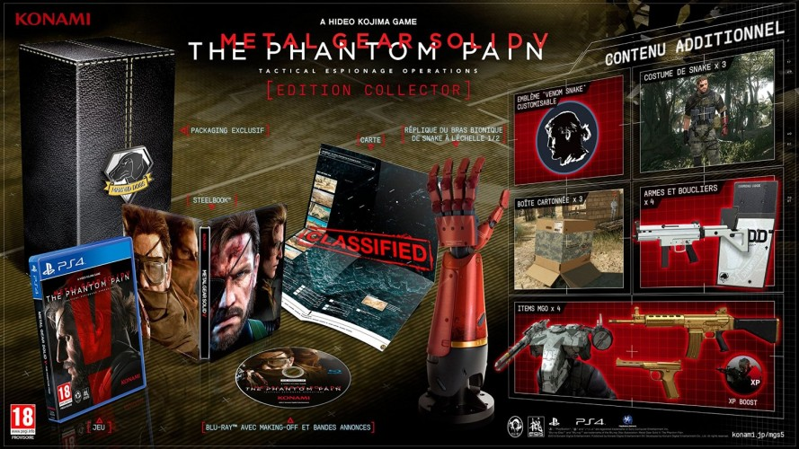Metal gear solid phantom pain collector