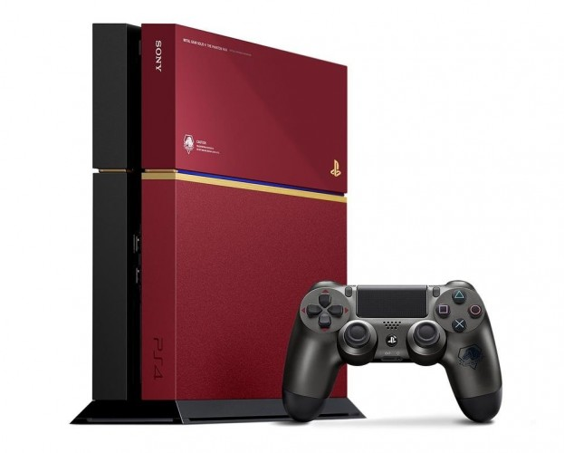 console PS4 metal gear solid 5 collector