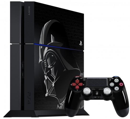 Précommande Console Ps4 Collector Star Wars Dark Vador