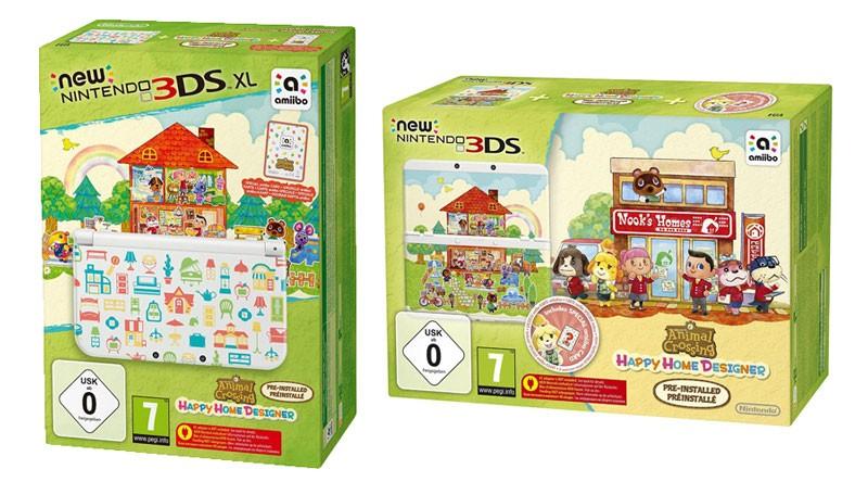 Amiibos Consoles Et Jeu Animal Crossing Happy Home Designer