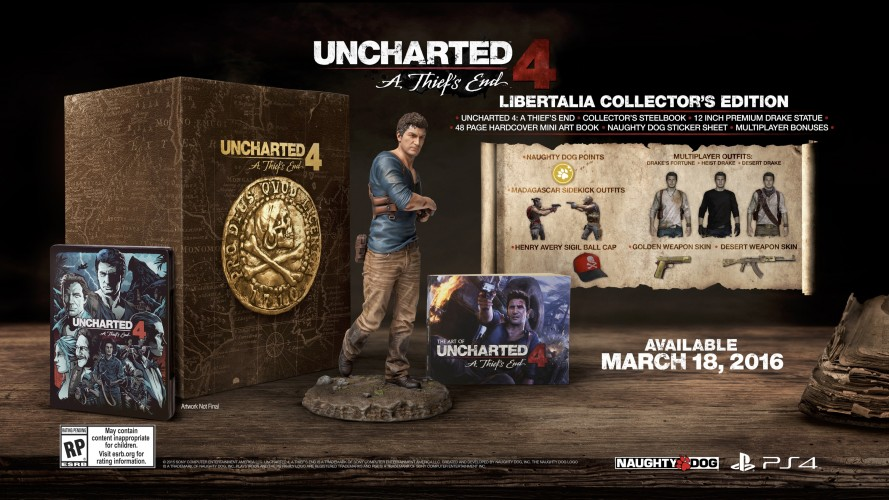 uncharted 4 libertalia collector edition