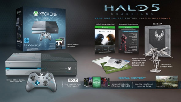 console xbox one halo 5 collector
