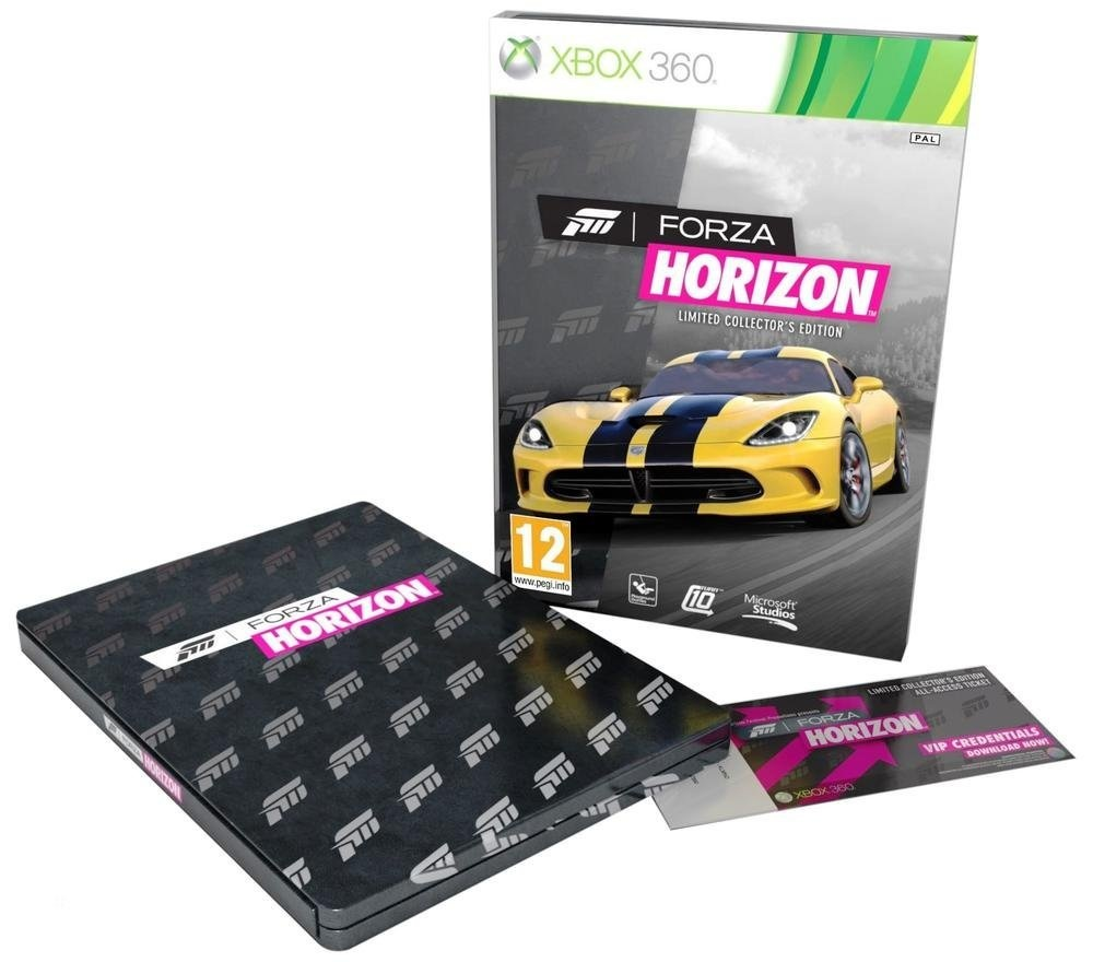 bon plan forza horizon collector pas cher sur xbox 360. Black Bedroom Furniture Sets. Home Design Ideas