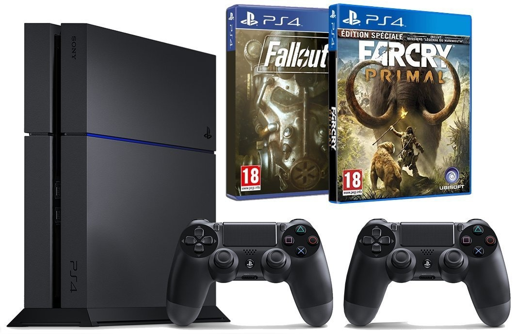 Console ps4 1to pas ch re 2 manettes farcry primal fallout 4 - What consoles will fallout 4 be on ...