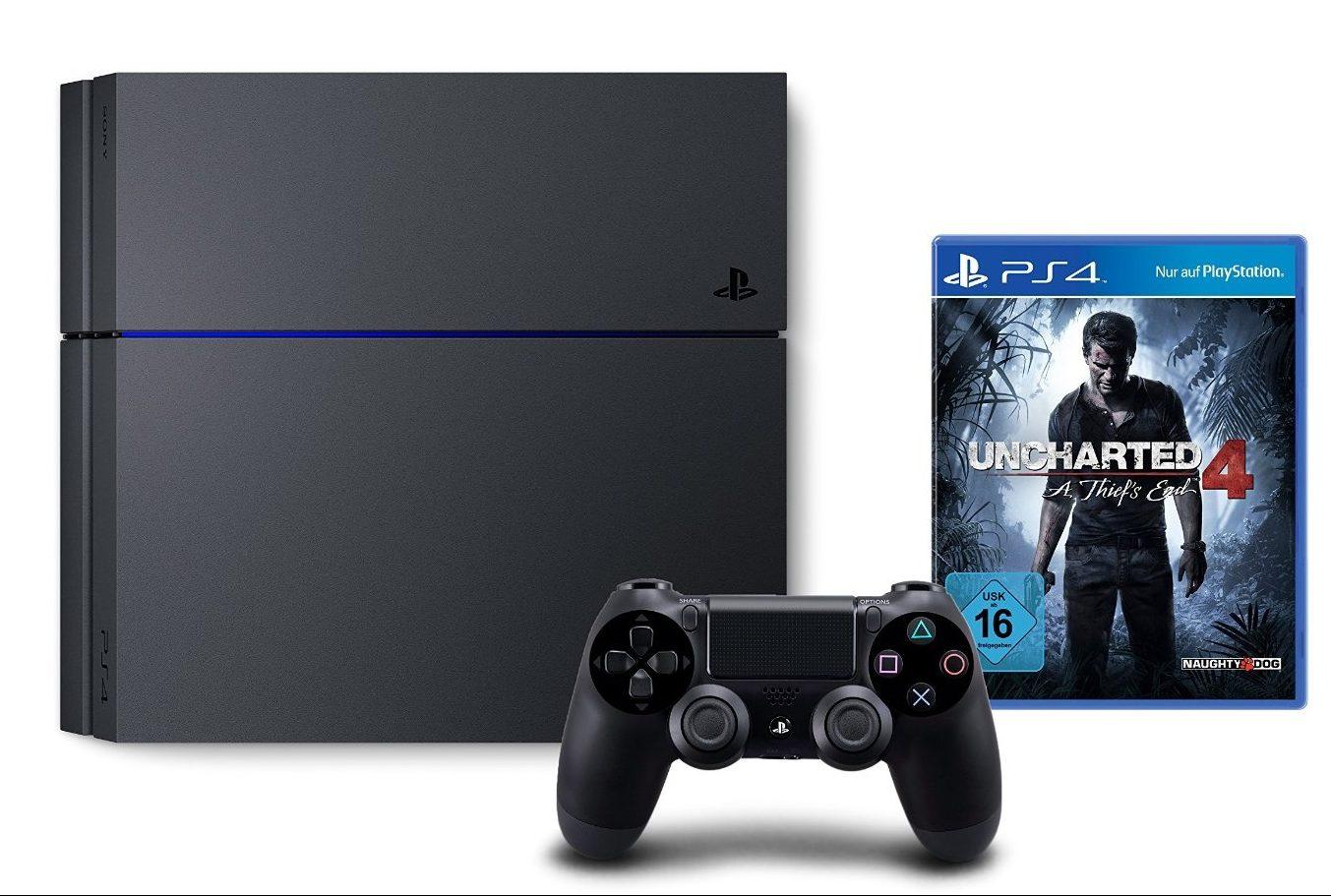 Bon plan console ps4 1to avec uncharted 4 - Garantie console micromania ...