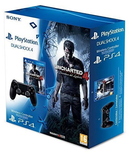 bon plan manette ps4 uncharted 4 pas cher. Black Bedroom Furniture Sets. Home Design Ideas