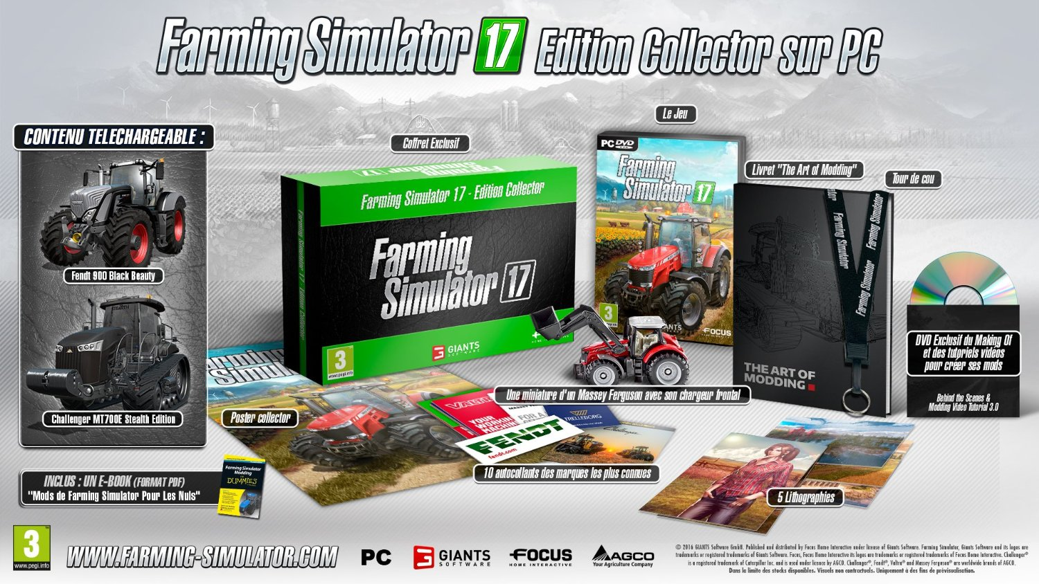 bon plan pr commande farming simulator 17 collector sur pc. Black Bedroom Furniture Sets. Home Design Ideas