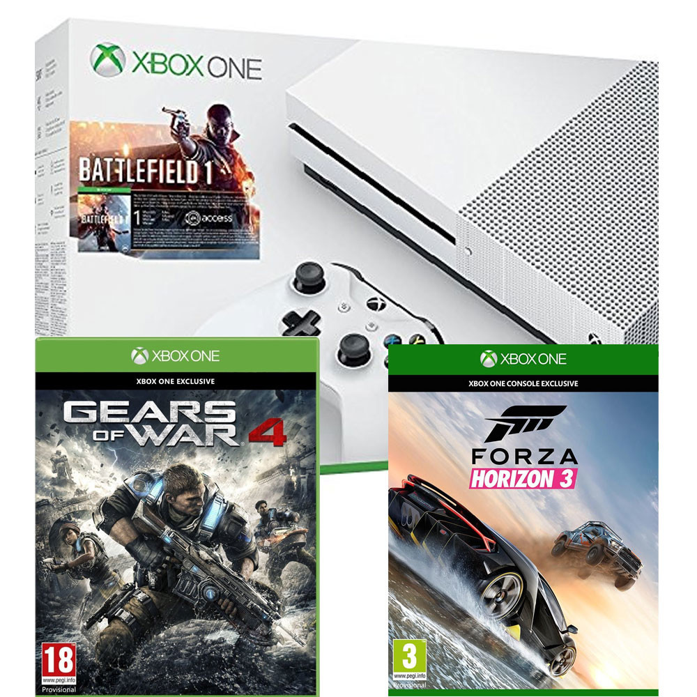 maj gears of war 4 et forza horizon 3 offerts pour l 39 achat d 39 une xbox one s partir de 269. Black Bedroom Furniture Sets. Home Design Ideas
