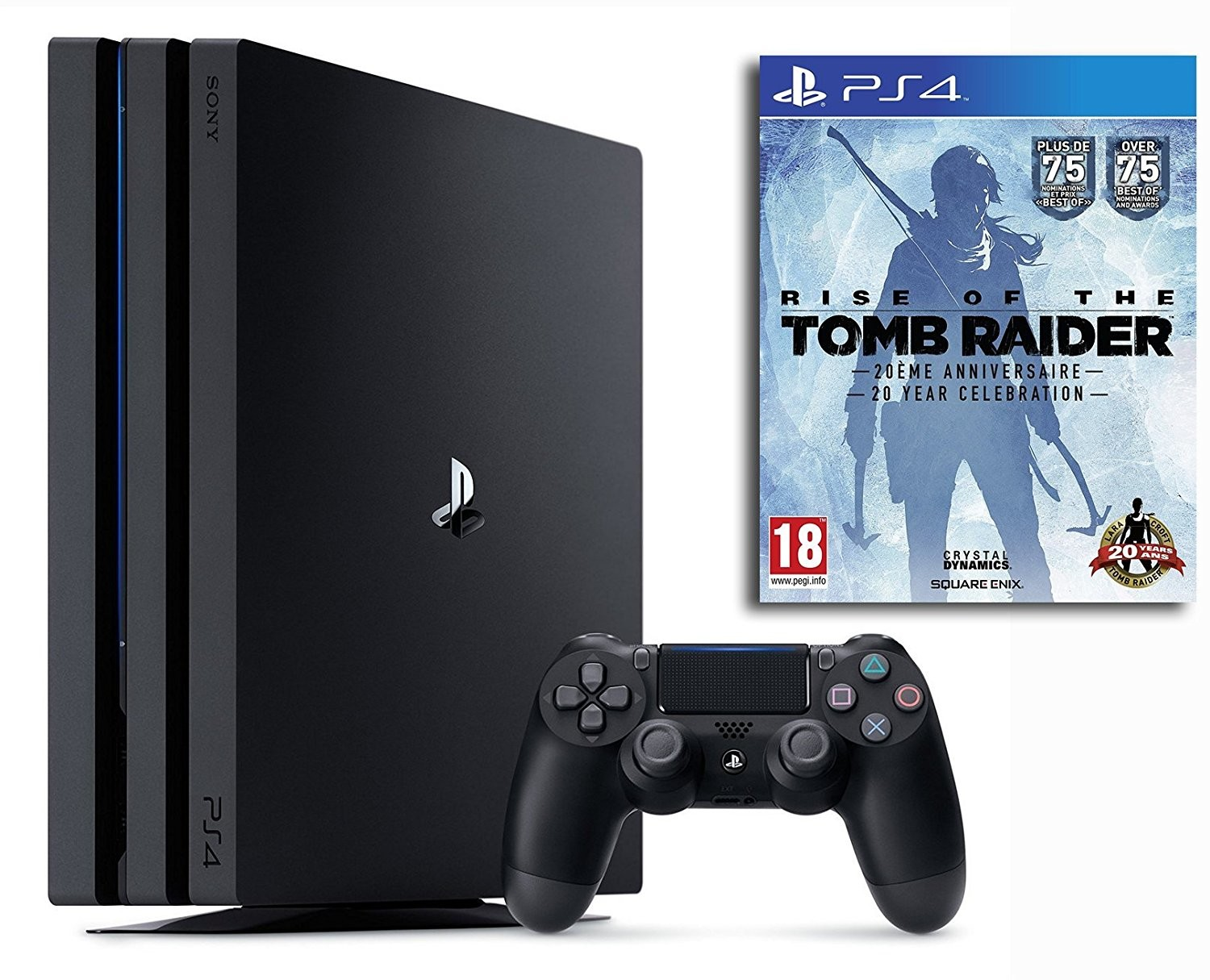 bon plan ps4 pro pas cher avec rise of the tomb raider offert. Black Bedroom Furniture Sets. Home Design Ideas