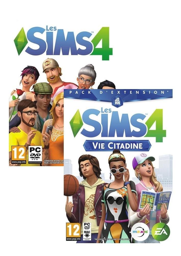 Bon plan Les Sims 4 pas cher avec disque additionnel Vie