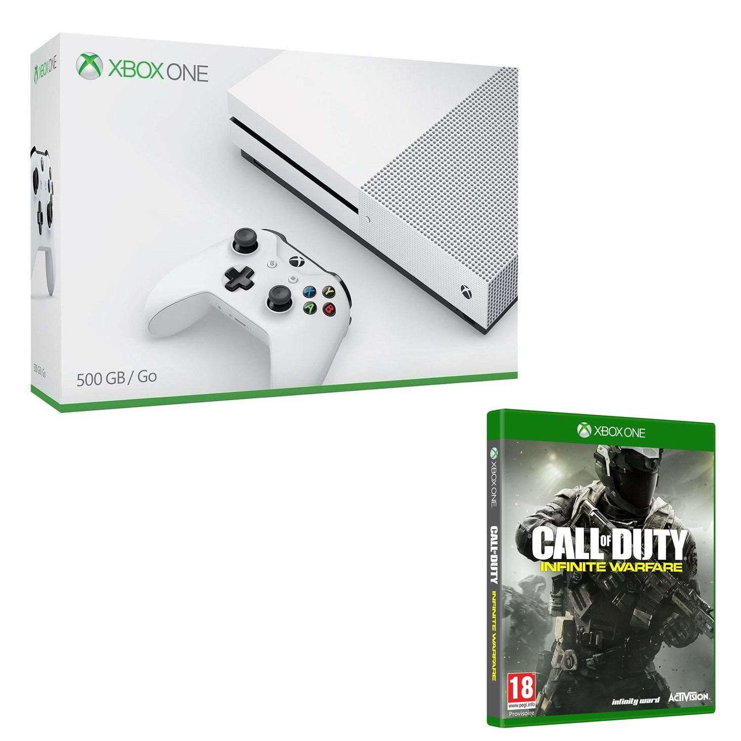 bon plan console xbox one s avec call of duty infinite. Black Bedroom Furniture Sets. Home Design Ideas