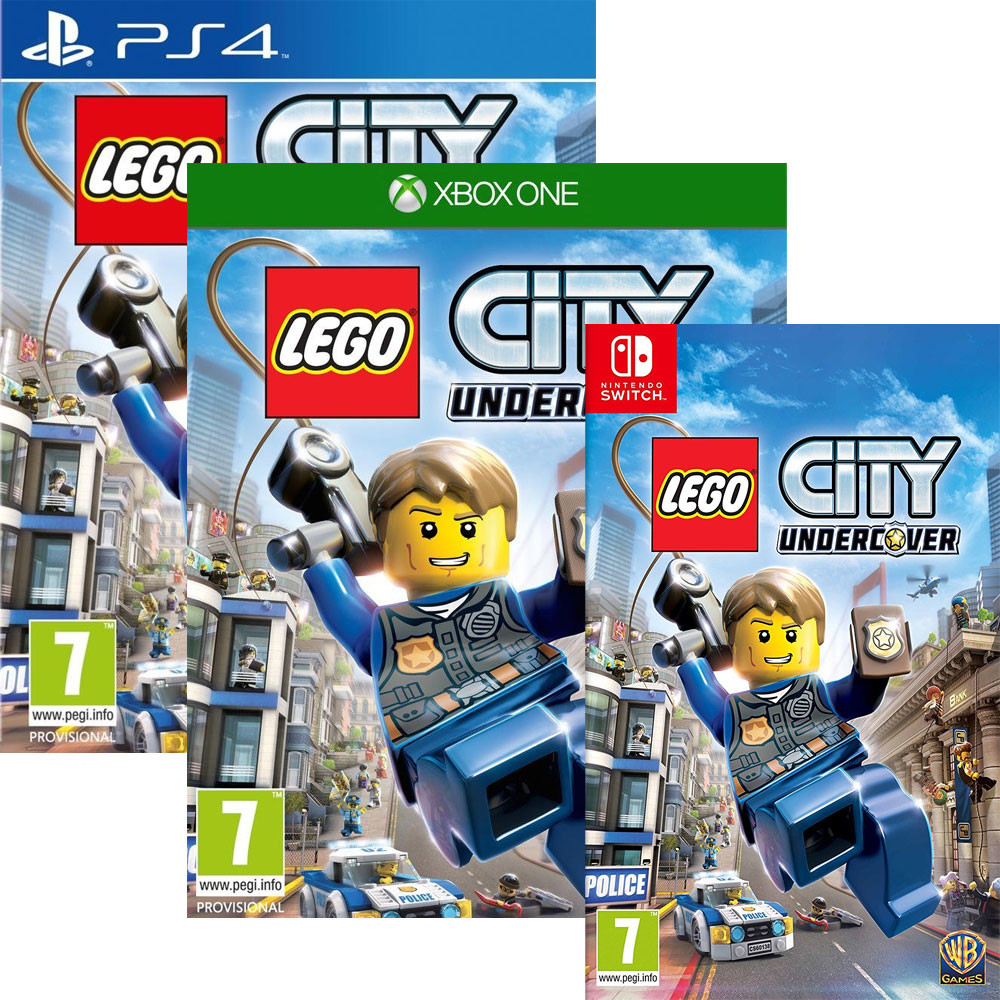 bon plan lego city undercover pas cher sur ps4 xbox one et switch. Black Bedroom Furniture Sets. Home Design Ideas