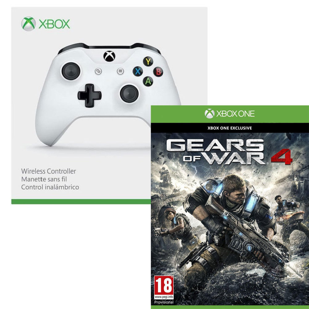 bon plan manette xbox one s gear of war 4 pas cher. Black Bedroom Furniture Sets. Home Design Ideas