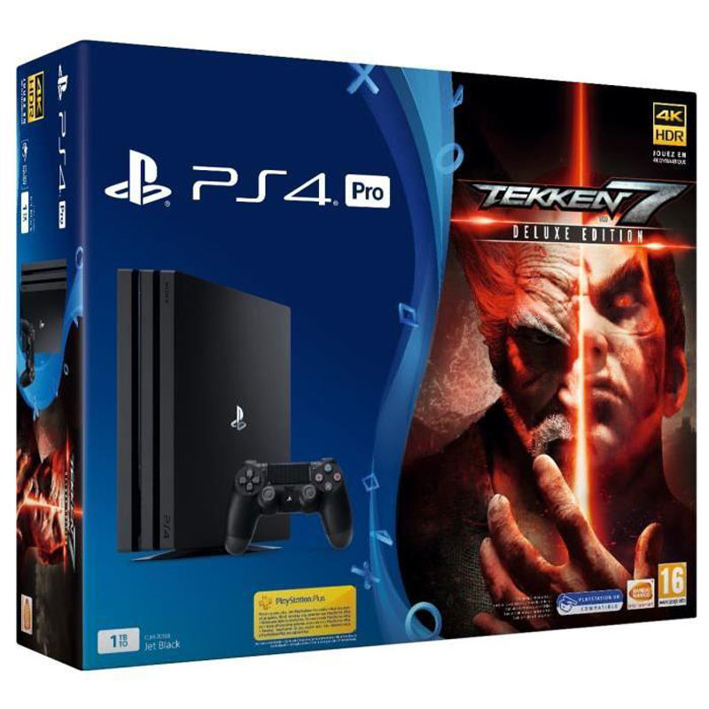 bon plan console ps4 pro avec tekken 7 et 3 mois de. Black Bedroom Furniture Sets. Home Design Ideas