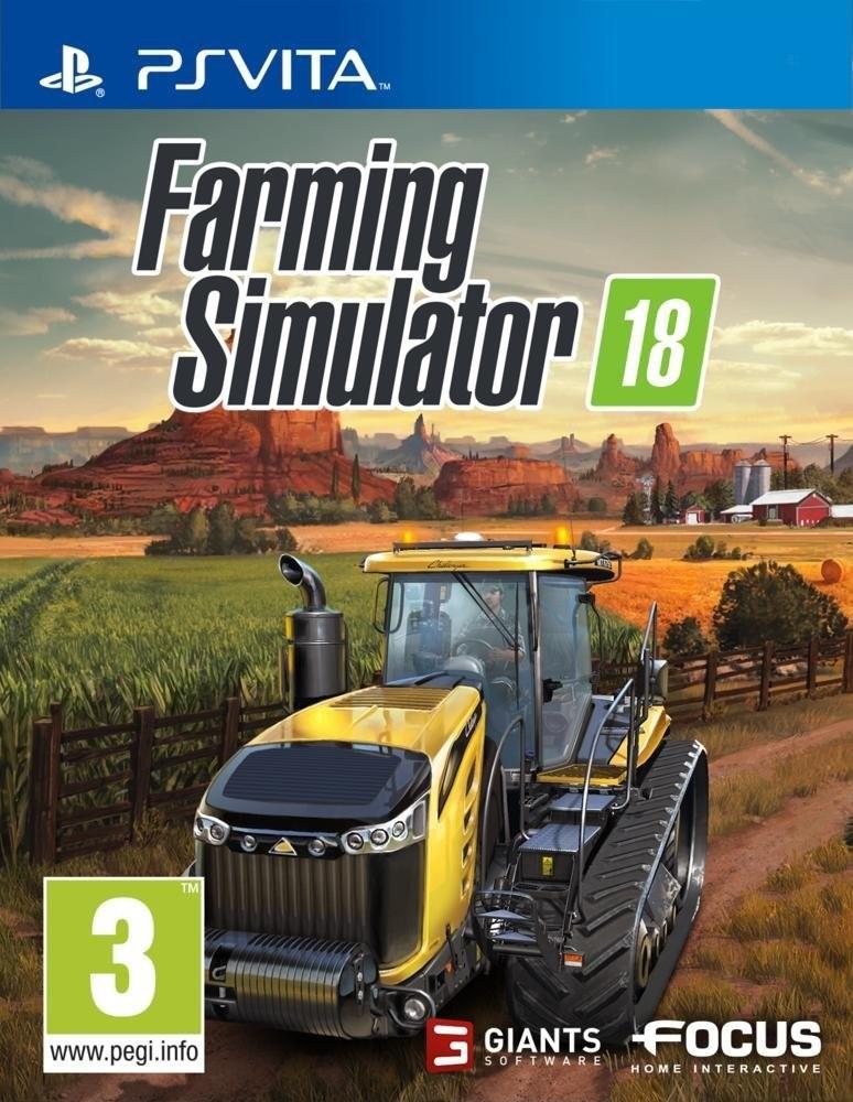 bon plan farming simulator 18 pas cher sur ps vita et 3ds. Black Bedroom Furniture Sets. Home Design Ideas