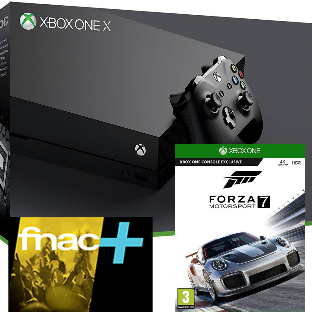 bon plan console xbox one x avec forza motorsport 7 pas cher. Black Bedroom Furniture Sets. Home Design Ideas