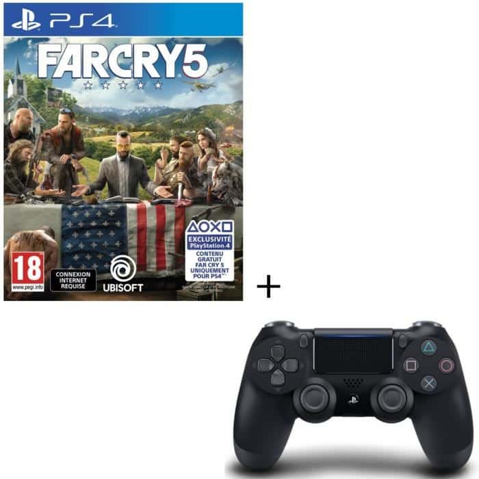packs far cry 5 abonnement 3 mois ps ou. Black Bedroom Furniture Sets. Home Design Ideas