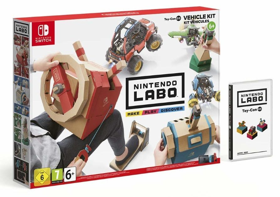 acheter en bon plan le nintendo labo kits v hicules pas cher sur switch. Black Bedroom Furniture Sets. Home Design Ideas