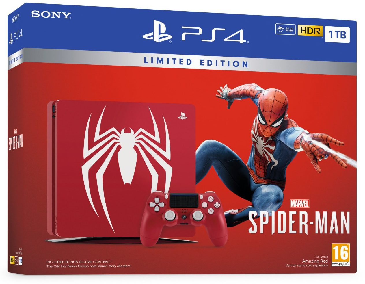 bon plan console ps4 slim 1to collector spider man pas cher. Black Bedroom Furniture Sets. Home Design Ideas