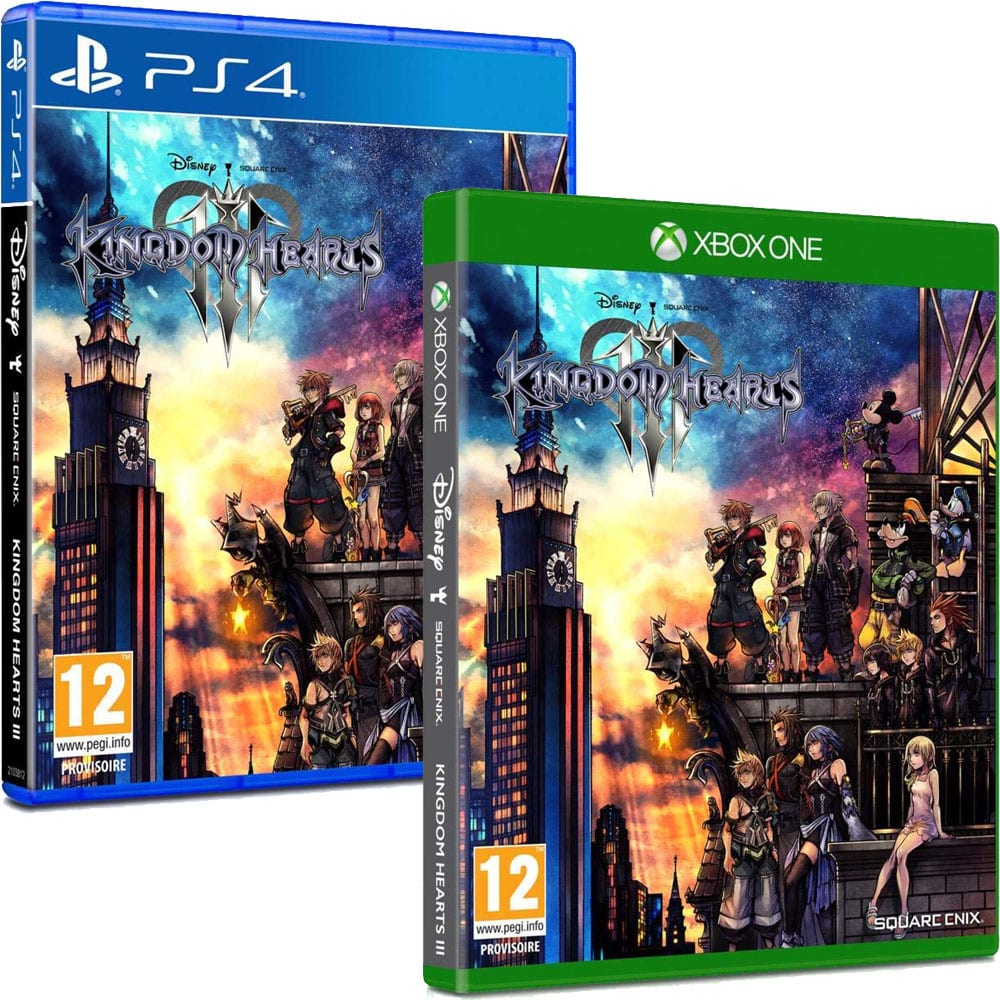 Image result for kingdom hearts 3 ps4 and xbox one