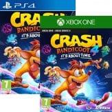 Jaquettes PS4 Xbox One Crash Bandicoot 4